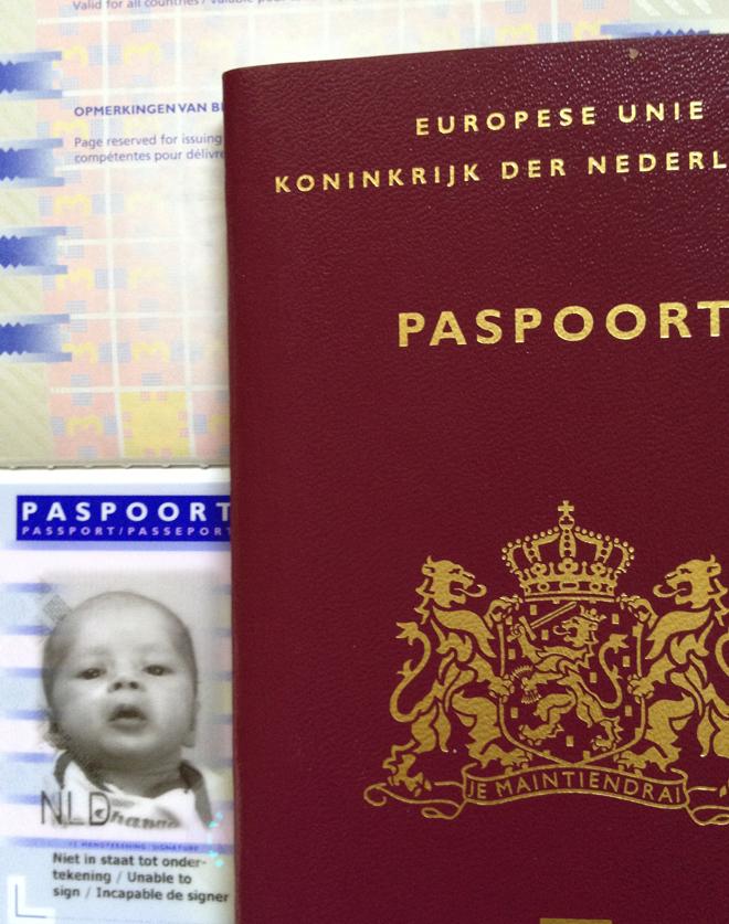 Paspoort staand 1