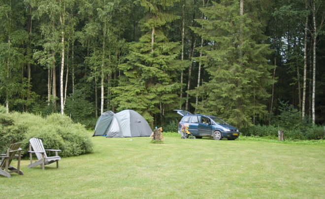 Foto kamperen met onweer 02