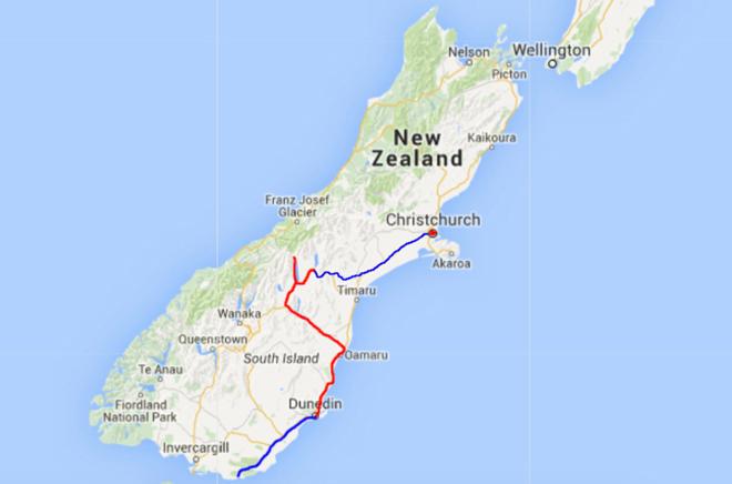 Deel 4 van onze rondtrip door Nieuw-Zeeland; van Dunedin naar Curio Bay