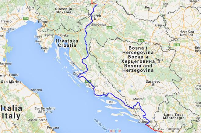 Route rondreis Zuid-Oost Europa met kinderen (deel 3)