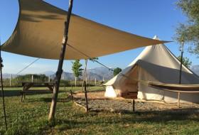 lake shkodra resort - tent