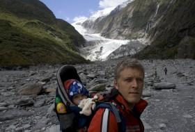 Onderweg naar de Franz Jozef gletsjer (Nieuw-Zeeland)