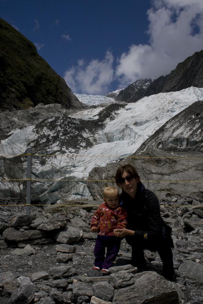 Dichterbij de gletsjer mogen we niet