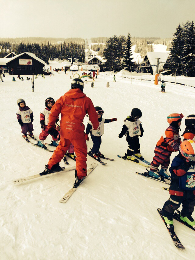 Skiën in Noorwegen; skiles vanaf 3 jaar
