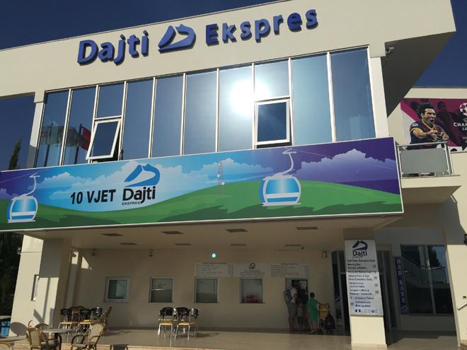 01 - dajti express basisstation