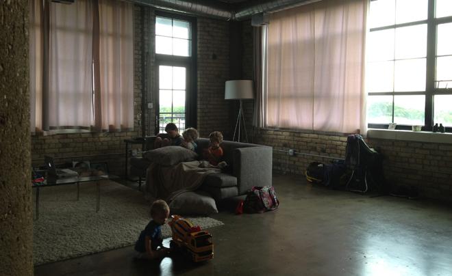 Airbnb met kinderen in Chicago