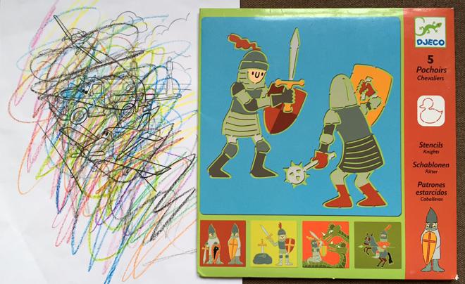 Knutselen voor kinderen; sjablonen en kleurplaten