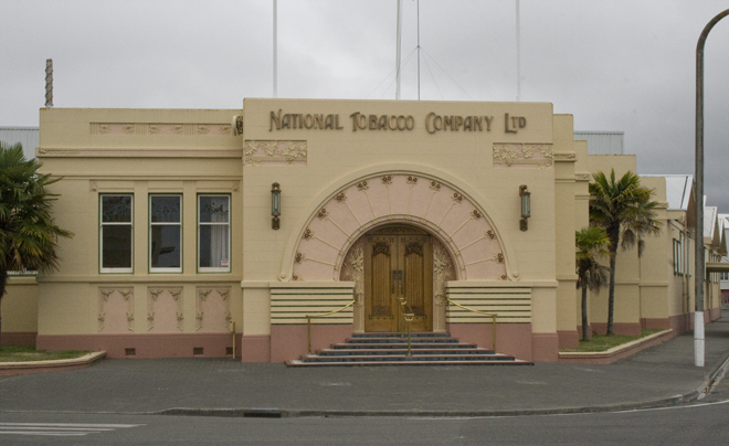 Art-deco in Napier (nieuw-zeeland)