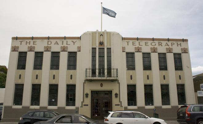 Act-deco in Napier (nieuw-zeeland)