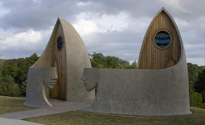 WC in Matakana, Noordland (Nieuw-Zeeland) 01