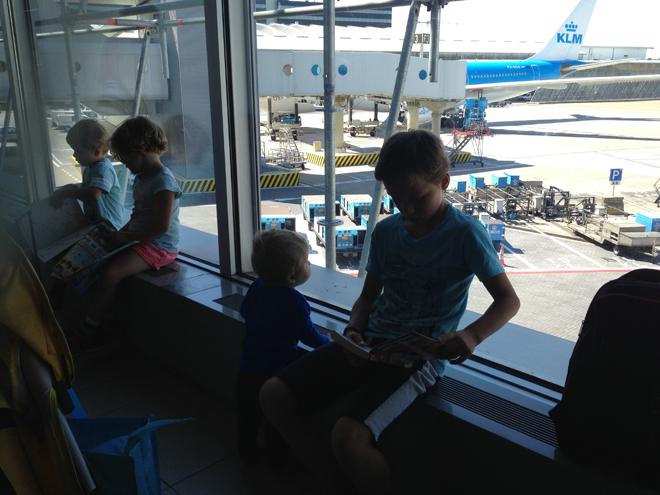 goedkoop vliegen als groot gezin