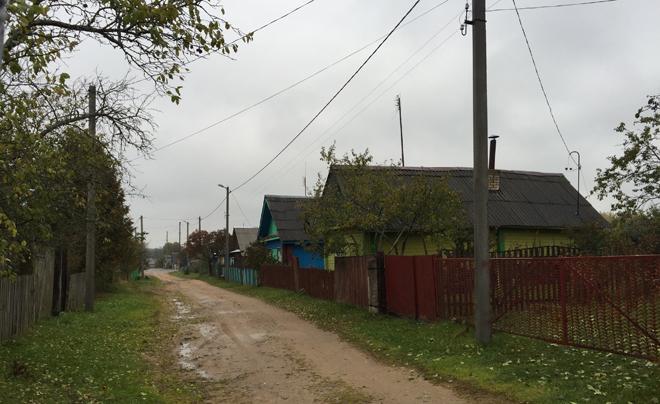 Roadtrip Wit-Rusland met kinderen: dorpje