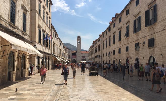 Dubrovnik met kinderen; Stradun