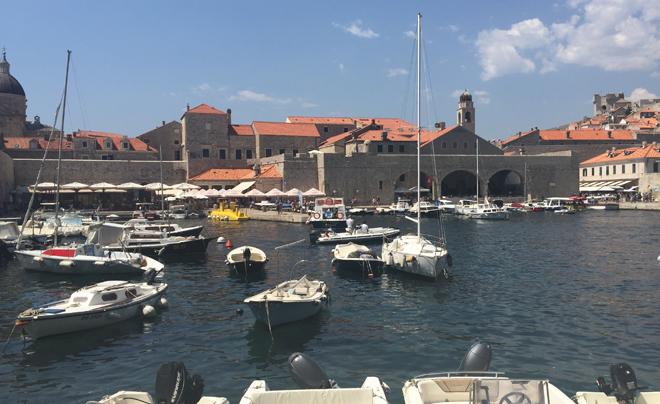 Dubrovnik met kinderen; haventje