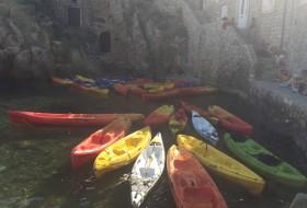 Dubrovnik met kinderen; kanoën