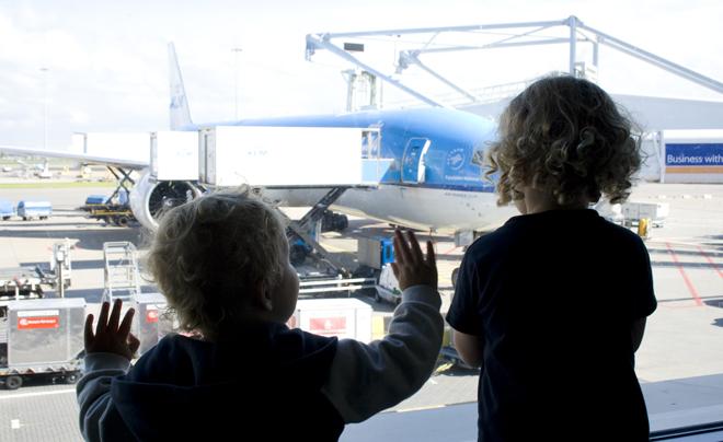 Na het vliegen met kinderen 01