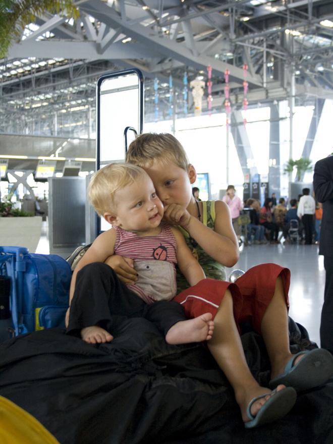 Na het vliegen met kinderen 02