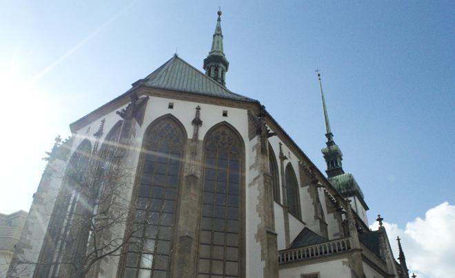 St Jacobskerk in Brno