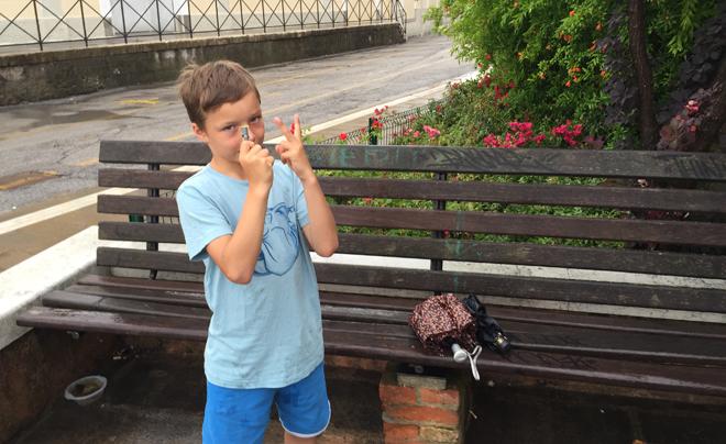 Doen met kinderen in venetië: geocachen