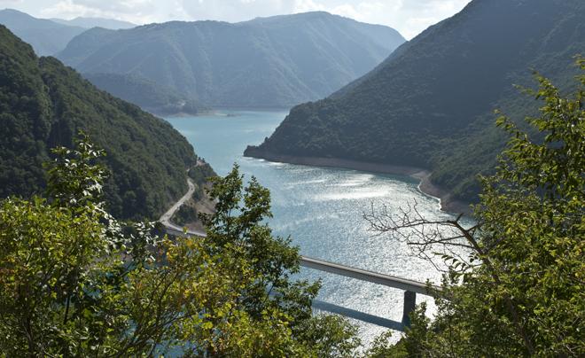 Vakantie in Montenegro: kloof