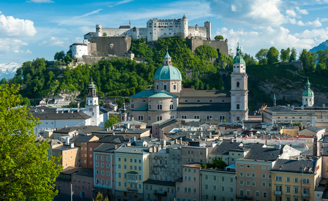 City break binnen Europa: Salzburg