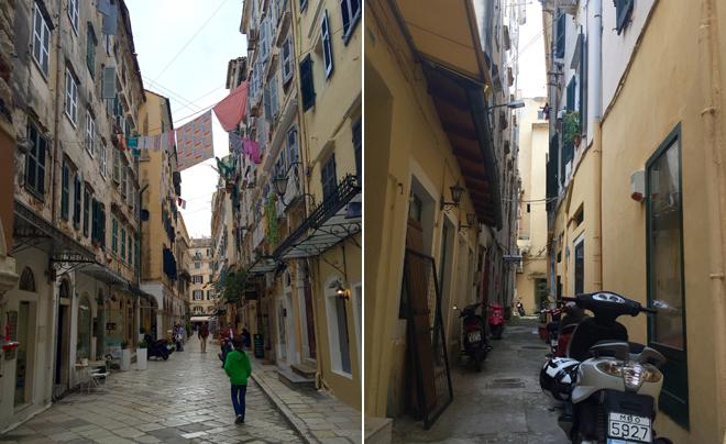 Reisverslag Corfu - corfu stad