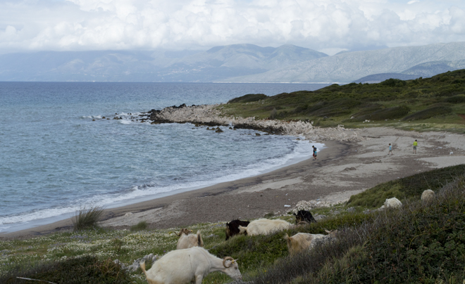 Reisverslag Corfu - Cape Agios Ekatarinis