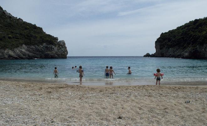 Reisverslag Corfu - paleokastritsa