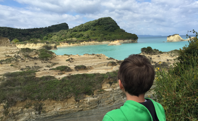 Reisverslag Corfu - woensdag 04