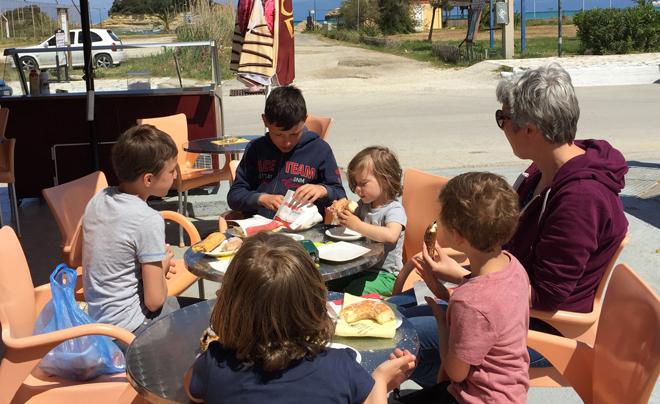 Reisverslag Corfu - woensdag 05