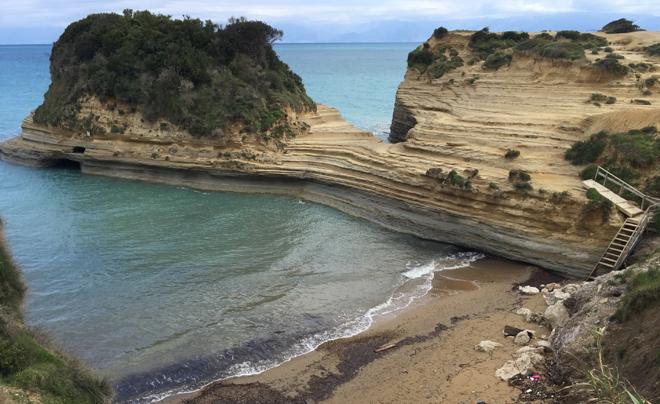Reisverslag Corfu - woensdag 08