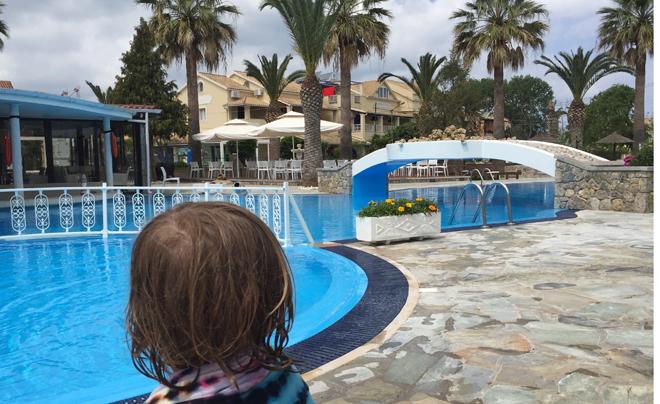 Reisverslag Corfu - zaterdag 03