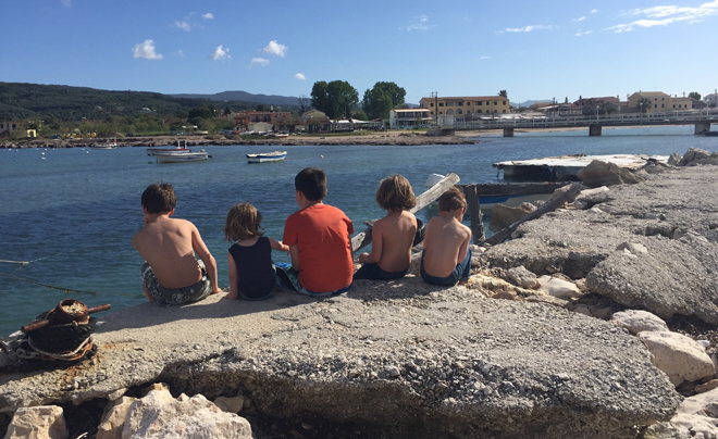 Reisverslag Corfu - zondag 01