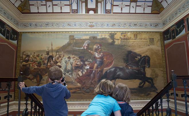 Reisverslag Corfu - het paleis van sissi