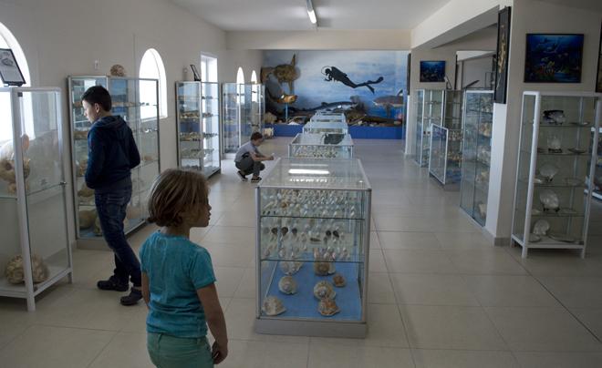 Reisverslag Corfu - schelpenmuseum