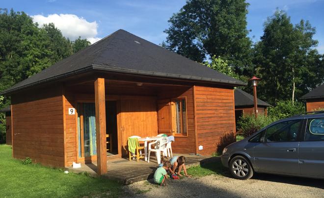 Camping in Frankrijk: chalet