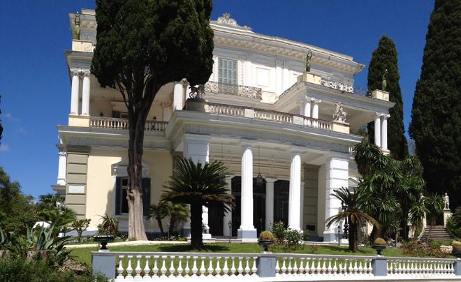 Sissi op Corfu 06