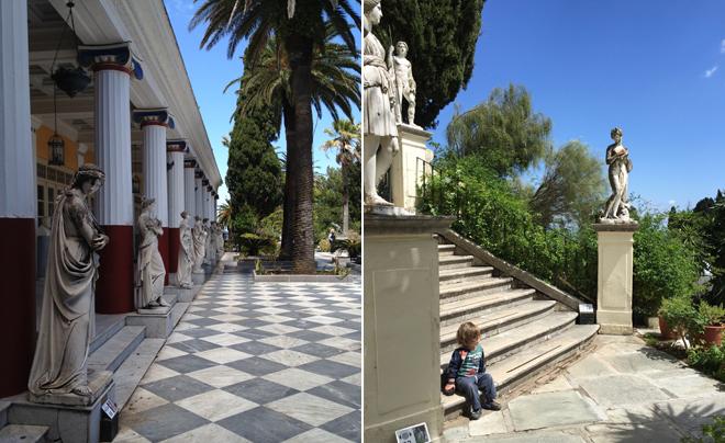 Sissi op Corfu 07