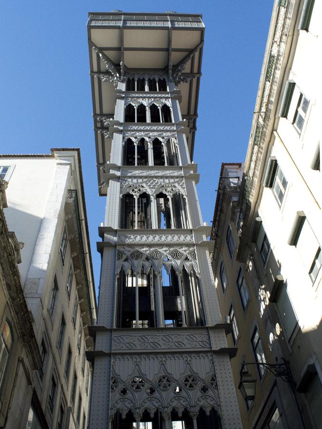 Doen in Lissabon - lift