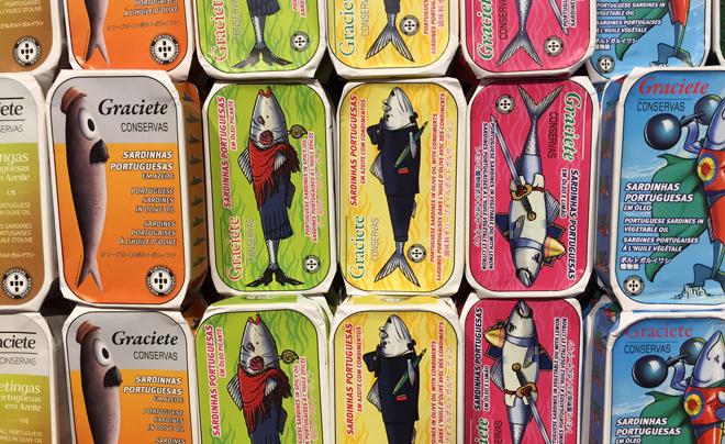 Doen in Lissabon - sardientjes