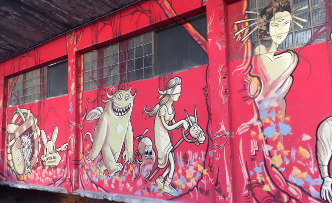 Doen in Lissabon - streetart