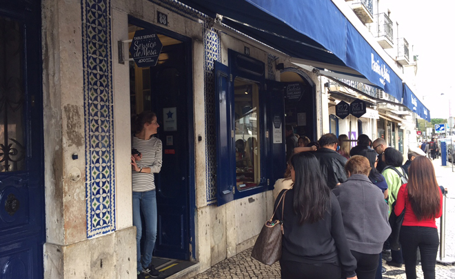 Doen in Lissabon - pasteis