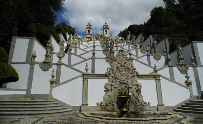 Tips voor een vakantie in Portugal - Bom Jesus do Monte