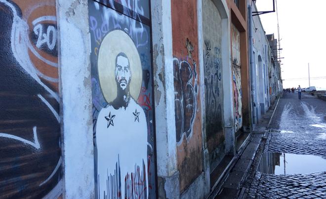 street art in Lissabon (overzijde Taag 01)