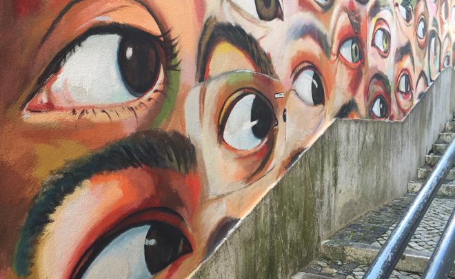 street art in Lissabon (Alfama 02)