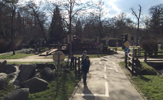 Parken in Brno - Park Luzanky 01