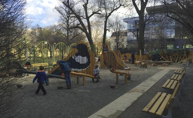 Parken in Brno - Park Tyrsov Sad 01