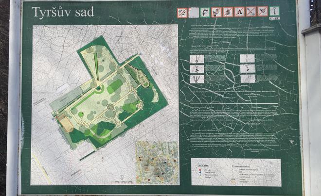 Parken in Brno - Park Tyrsov Sad 02