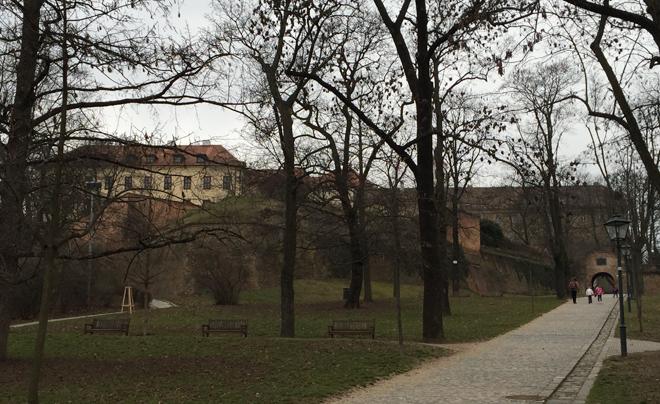 Parken in Brno - Spilbek Castle 01