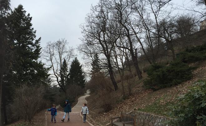 Parken in Brno - Spilbek Castle 02